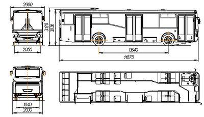 Городской автобус Нефаз 5299-30-33